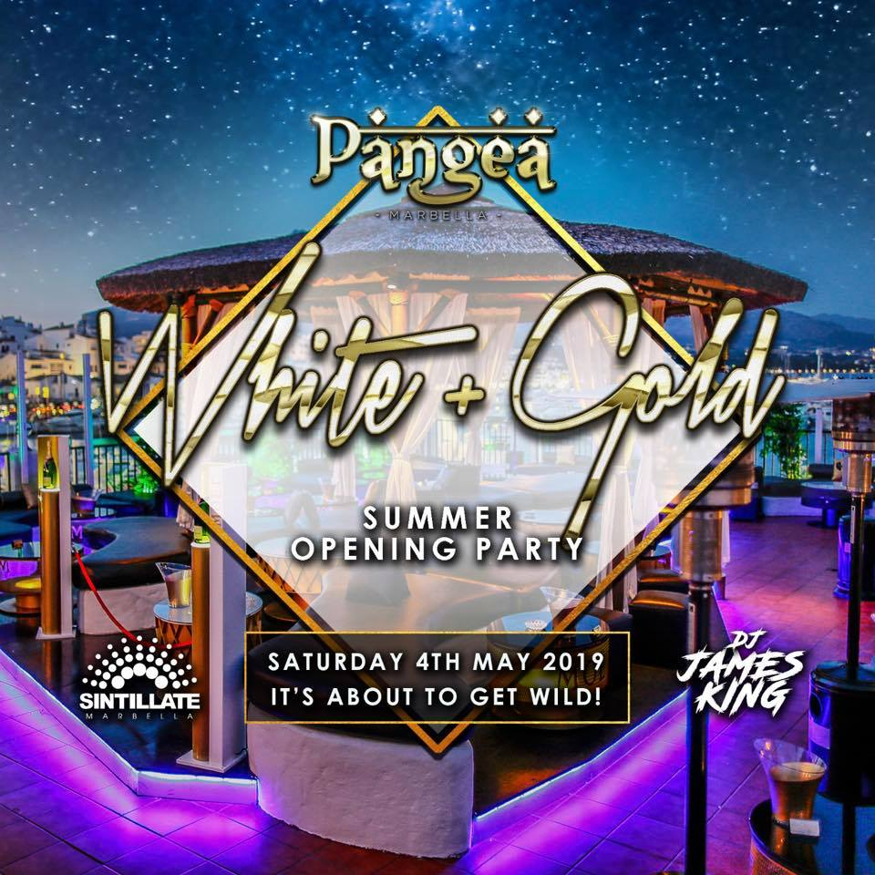 Opening White and Gold Party